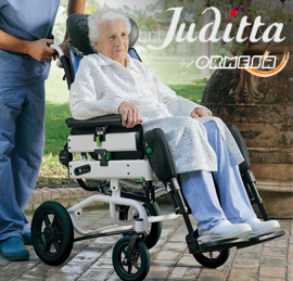 Uusi Comfort-pyörätuoli Ormesa Juditta